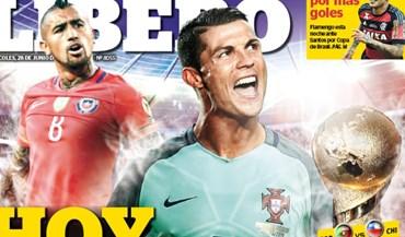 Jornal peruano sem dúvidas: «Hoje somos Portugal»