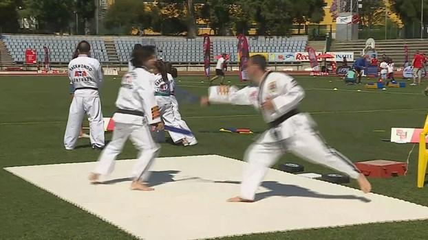 Record Challenge Park: Venha experimentar o Taekwondo