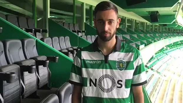 Foi assim que o Sporting anunciou Bruno Fernandes