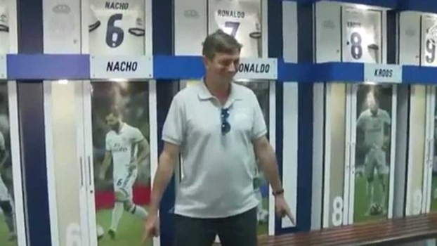 Até o presidente da Eslovénia já faz a celebração de Ronaldo