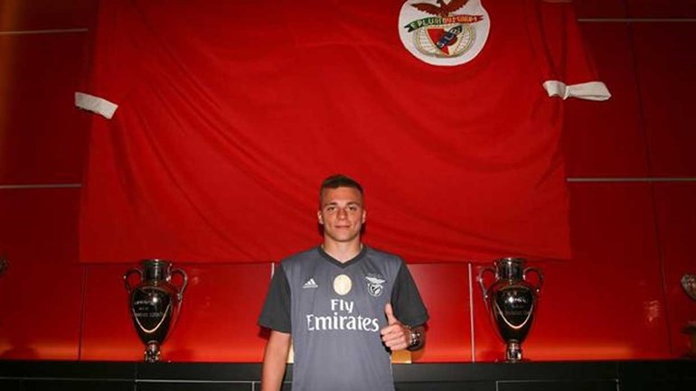 Alex Pinto é reforço do Benfica — Oficial