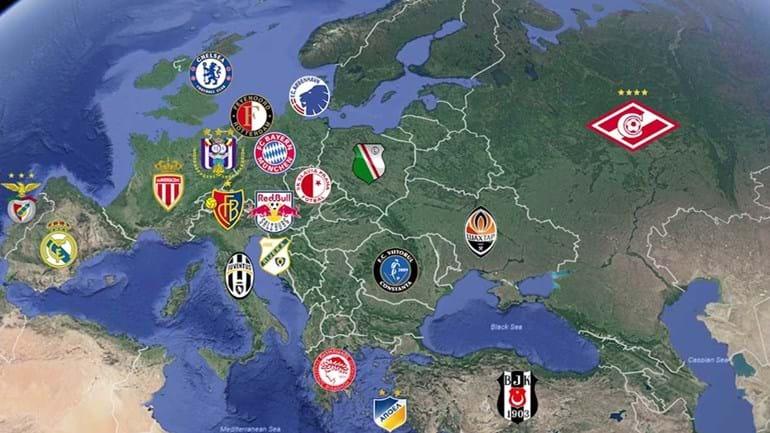Conheça os campeões das principais ligas europeias