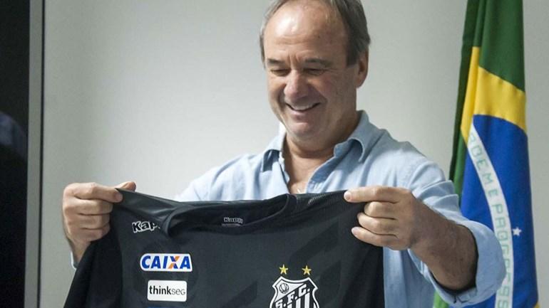 Santos anuncia Levir Culpi como treinador até ao final da época