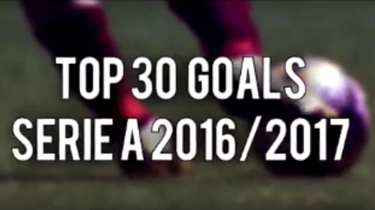 Sabe qual foi o melhor golo da Serie A? Nós mostramos-lhe os 30 melhores!