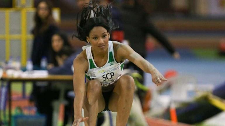 Patrícia Mamona campeã nacional do triplo salto pelo 10.º ano consecutivo