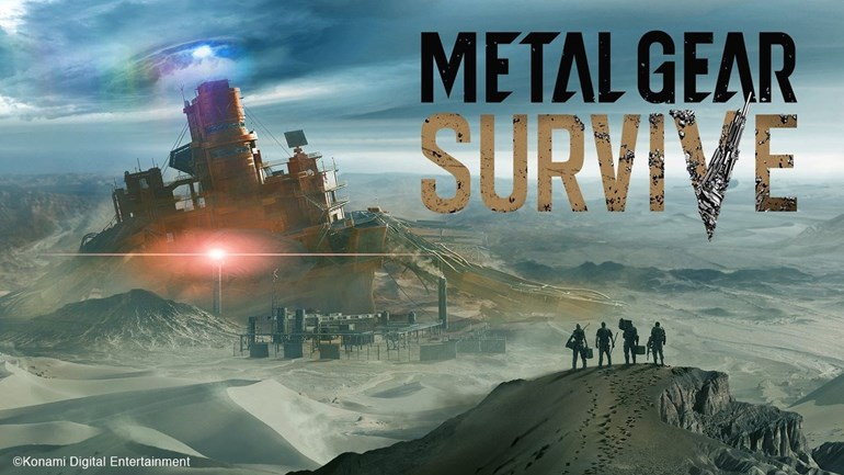 Metal Gear Survive adiado para 2018