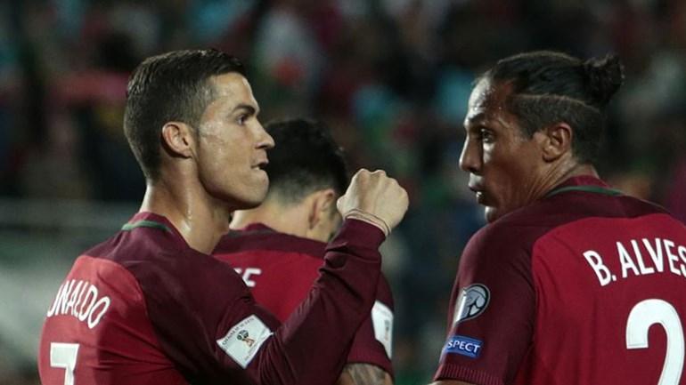 Cristiano Ronaldo integrado no regresso de André Silva