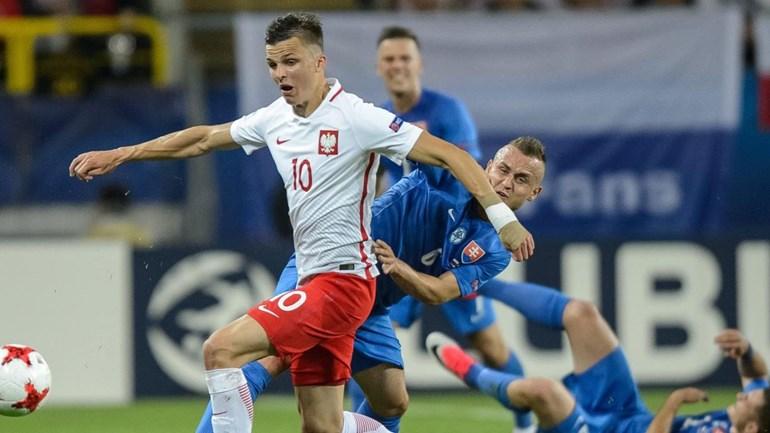Euro sub-21. Reviravolta da Eslováquia frente à Polónia