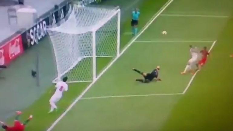 Gonçalo Guedes aproveitou erro do guarda-redes para marcar