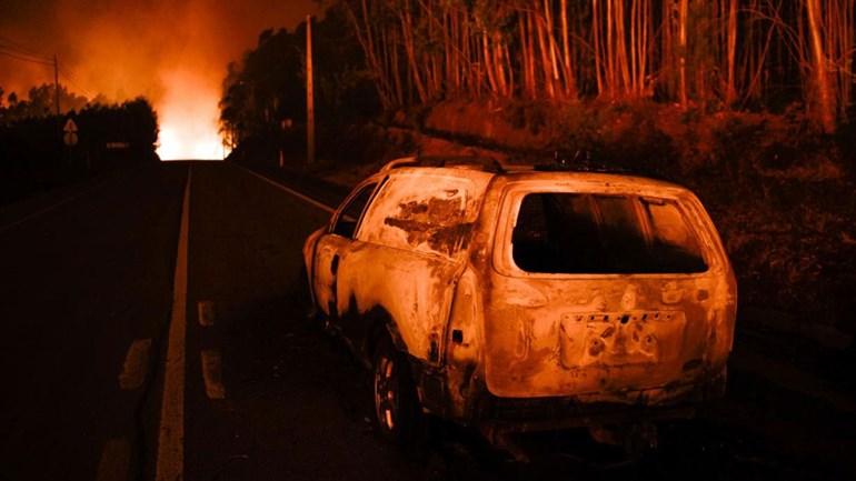 Incêndio em Pedrógão Grande: número de mortos sobe para 43