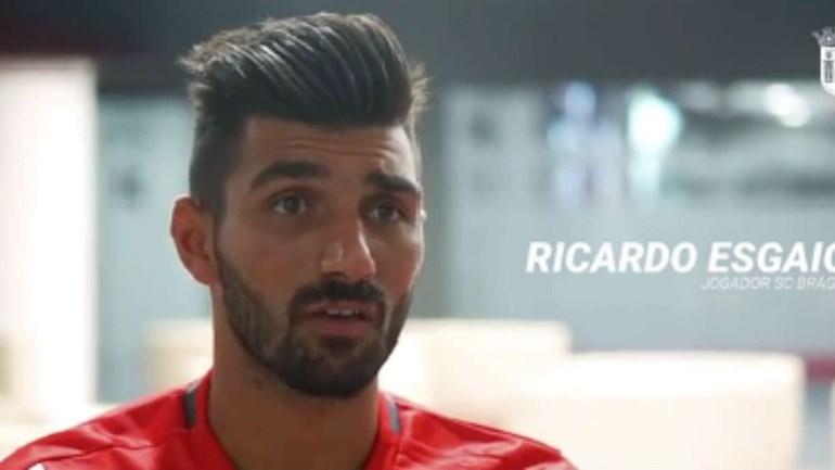 Ricardo Esgaio explica por que não hesitou em aceitar a mudança para Braga