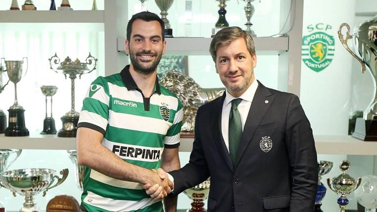 Henrique Magalhães reforça Sporting