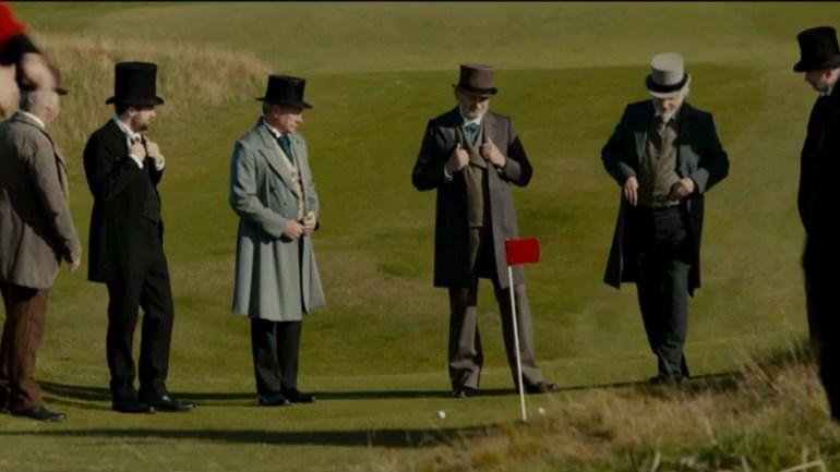 Estrela do golfe inspira longa metragem