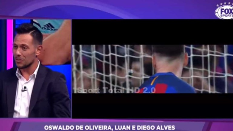 Diego Alves explica o segredo para travar penáltis de Messi