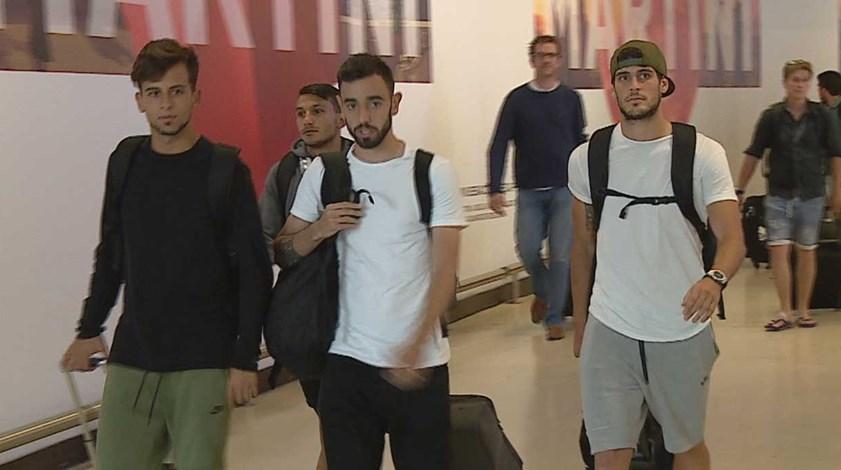 Desilusão marca chegada a Lisboa