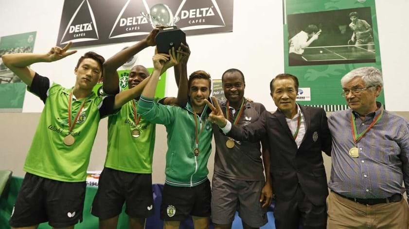 Sporting no grupo C da Liga dos Campeões com o detentor do troféu