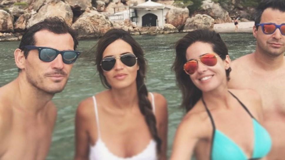 Casillas e Carbonero encantados com Menorca