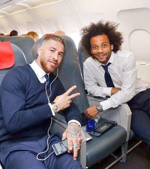 Lionel Messi, CR7, Marcelo e Casemiro na seleção da Champions League