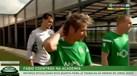 Assim foi o primeiro treino de Coentrão pelo Sporting