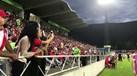 Adeptos do Benfica fazem a festa na Suíça