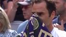 Federer conquistou Wimbledon pela 8.ª vez mas a verdadeira emoção aconteceu... ao ver os filhos