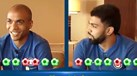 João Mário e Gabigol num 'quiz show' sobre Inter e China... podia ter corrido melhor