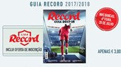 Guia Record 2017/18 sexta-feira nas bancas