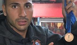 Quaresma dedica medalha a família que morreu no incêndio em Pedrógão Grande