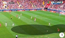 O Portugal-México visto à lupa: O corredor do golo