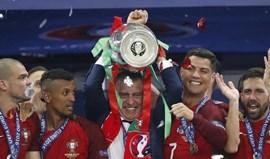 Há um ano Campeões Europeus