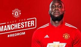 Oficial: Lukaku já é jogador do Man. United