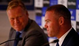 Rooney espera voltar à seleção inglesa com regresso ao Everton