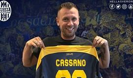 Oficial: Cassano assina pelo Hellas Verona