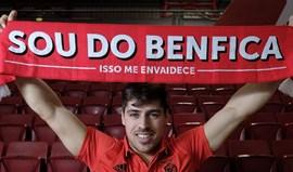 Diogo Rafael renova até 2020 com o Benfica