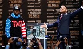 A guerra de palavras entre McGregor e Mayweather