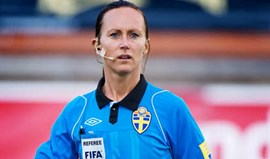 Euro'2017: Sueca Pernilla Larsson arbitra Espanha-Portugal