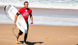 Frederico Morais na terceira ronda do Corona Open J-Bay