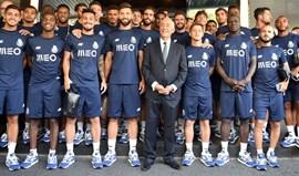 Presidente da República visita FC Porto durante a deslocação oficial ao México