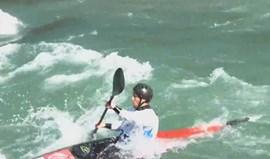 Luca Santos nas meias-finais dos Mundiais sub-23 de slalom