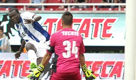 Crónica do Chivas-FC Porto, 2-2: Aboubakar avisa que vai dar brado