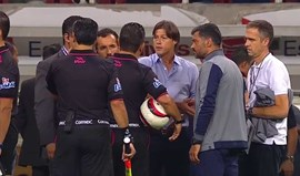 Árbitro não deixou Sérgio Conceição assistir aos penáltis e o jogo.... acabou logo ali