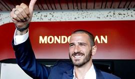 Oficial: Bonucci no Milan até 2022