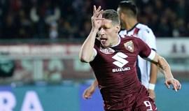 Presidente do Torino só deixa sair Andrea Belotti por 100 milhões de euros