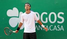 Gastão Elias afastado na segunda ronda do Challenger de Scheveningen