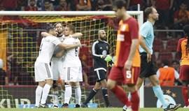 Galatasaray cai aos pés do modesto Östersunds