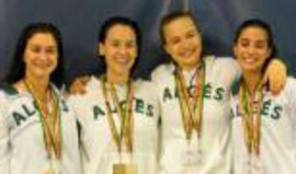 Algés e Dafundo bate recorde nacional absoluto dos 4x200 livres femininos