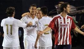 Cristiano Ronaldo com hat-trick em 10 minutos
