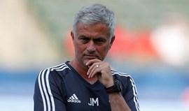 Mourinho: «Foi uma sessão de treino muito boa»