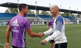 Zidane: «Cristiano Ronaldo vai ficar e ponto final»