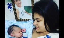 Nasceu o filho de vítima da tragédia da Chapecoense